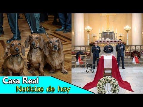 El singular funeral de Henrik de Dinamarca: sus hijos y sus perros