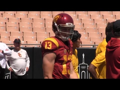 Jack Sears highlights from the USC spring game