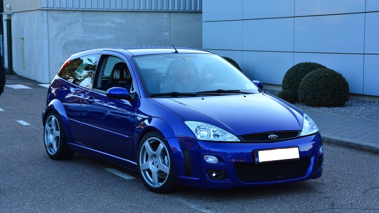 ford focus rs mk1 on ford test track video youtube. Black Bedroom Furniture Sets. Home Design Ideas