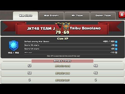 3 Star War Replay ( JKT48 TEAM J vs Tribu Boholano )