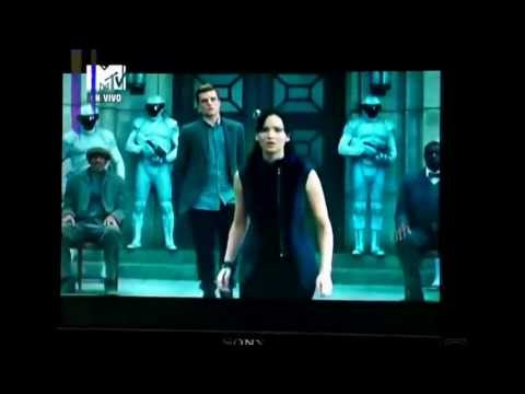 The Hunger Games: Catching Fire trailer from the Mtv Movie Awards 2013