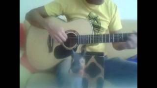 K'NAAN - Waving Wavin' Flag Acoustic Guitar Cover (FIFA WM 2010 Soundtrack, Soccer World Cup)