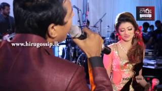 Natasha & Prihan Singing Yayata Payana Song On Wedding Day