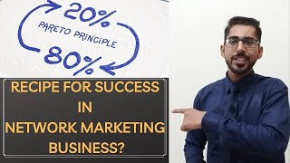 Why Most People Fail In Network Marketing Business?  2 Reasons  Recipe For Success