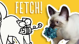 Cats That Play Fetch - Simon's Cat Snaps | FAN VIDEOS