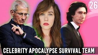 We Draft Our Celebrity Apocalypse Survival Team - You Can Sit With Us Ep. 26