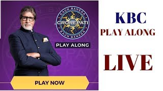 KBC10 #KaunBanegaCrorepati #KBC2018 KBC 10 LIVE 50September 2018 +50 GK Question Kaun Banega Crorepa