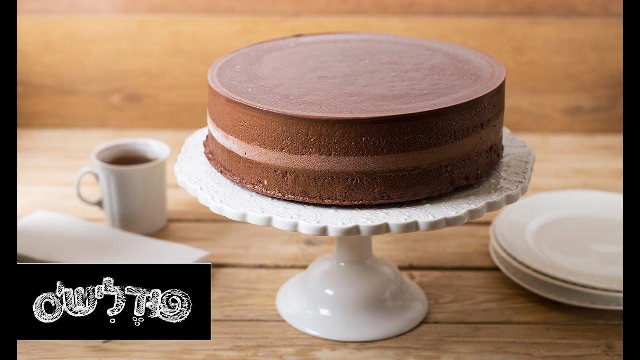 עוגת מוס שוקולד קפה פרווה של אושרי אוחיון