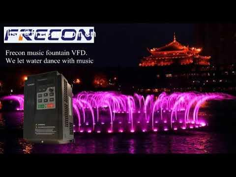 Frecon music fountain VFD drive VSD introduction