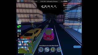 Playing Roblox Jail Break with My Motor Car 5