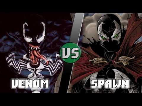 Веном (Эдди Брок) vs Спаун /  Venom (Marvel) vs Spawn - Кто кого? [bezdarno]