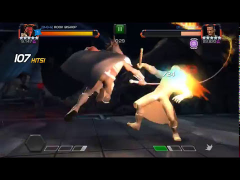 5 star mephisto vs 5 star mordo alliance war mini boss - marvel contest of champions