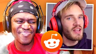 Reacting to Pewdiepie's Reddit