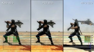 Ninja Gaiden 3 Wii U/PS3/Xbox 360 Gameplay Frame-Rate Tests