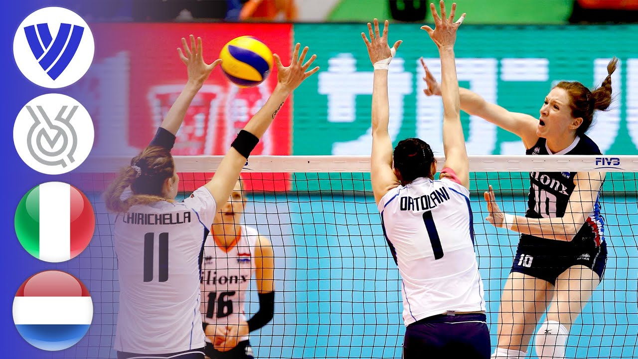 Italy vs. Netherlands - FULL | Women's Volleyball World Olympic Qualifier 2016
