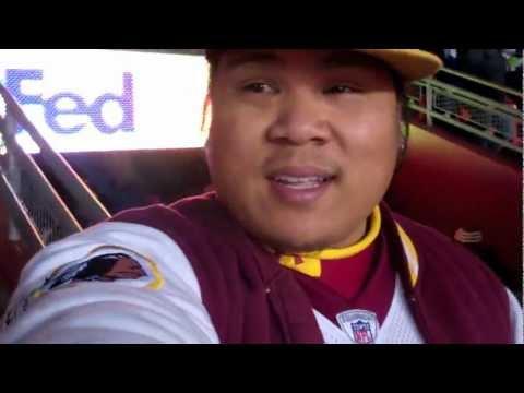 Redskins vs. Seahawks PLAYOFFS 2012! (Vlog #303)