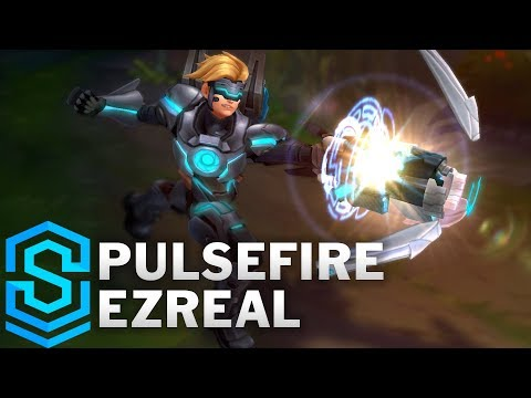 Pulsefire Ezreal (2018) Skin Spotlight - Pre-Release - League of Legends