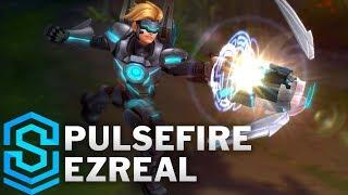 pulsefire Ezreal (2018) Skin Spotlight - Pre-Release - League of Legends