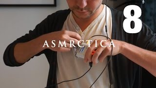 ASMR New Sound: Button Snap Tapping - Receipt Crinkling & Reading German Ad - Sleep Aid