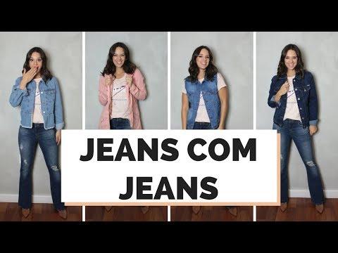 8 LOOKS JEANS COM JEANS - COMO COMBINAR   MARI FLOR