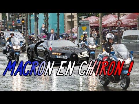E.Macron en Bugatti Chiron ! :D