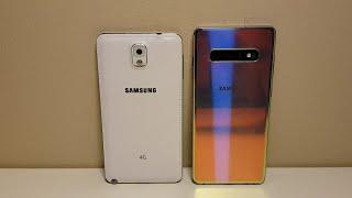 Samsung Galaxy S10+ vs. Samsung Galaxy Note 3 - Size Comparison!