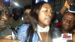 Actress Emelia Brobbey arrives in Ghana and speaks after shoplifting scandal