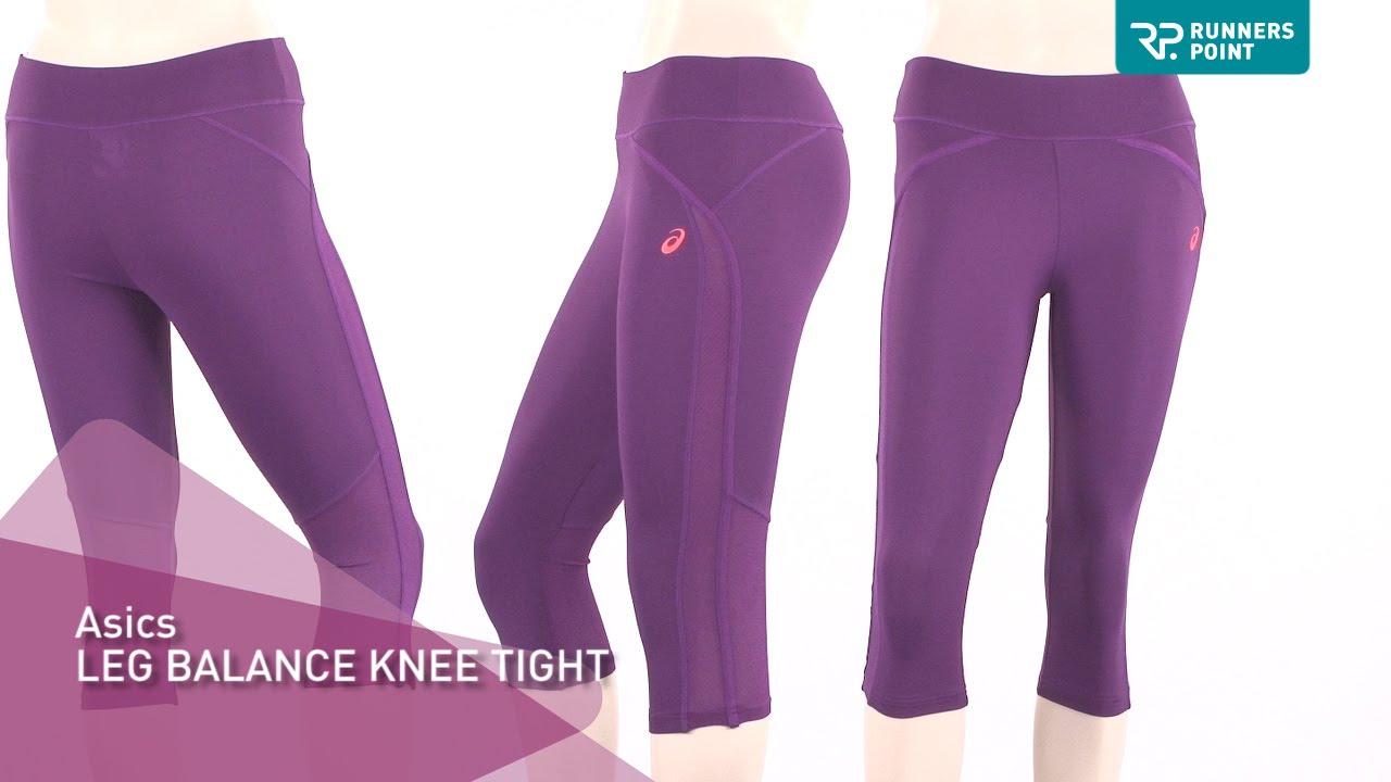 asics leg balance knee tight damen