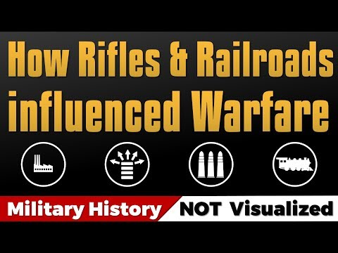 How Rifles & Railroads influenced Warfare in the 19th Century