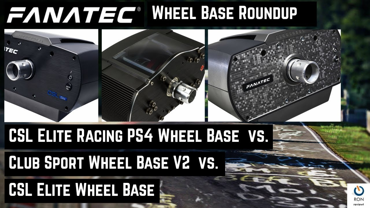fanatec wheel base review csl elite vs csl elite racing. Black Bedroom Furniture Sets. Home Design Ideas