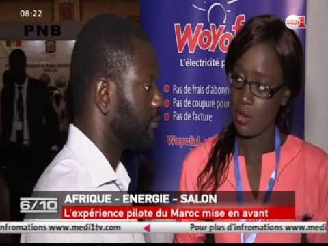 Salon International de l'Energie en Afrique: l'expérience du Maroc mise en avant