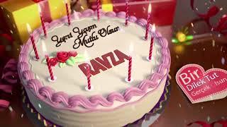 İyi ki doğdun RAVZA - İsme Özel Doğum Günü Şarkısı