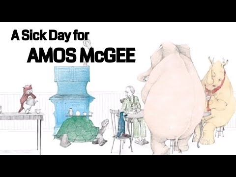Children Story Books Read Aloud |  A SICK DAY FOR AMOS McGEE | Animal Story