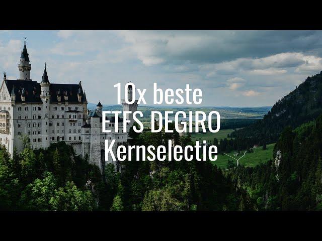 10 Beste ETFs DEGIRO kernselectie 2021: +20% Rendement! Tips, Analyse & meer