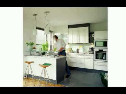 Moderne Küchenausstattung Weiße Küche Mit Kücheninsel 2016-09-14
