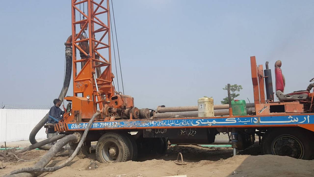 Drilling machinery in pakistan upto 800ft depth