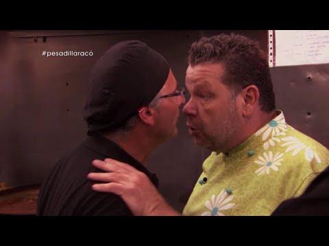 """Chicote y David, cara a cara: """"¿Pero tú, quién te crees?""""- Pesadilla en la cocina"""