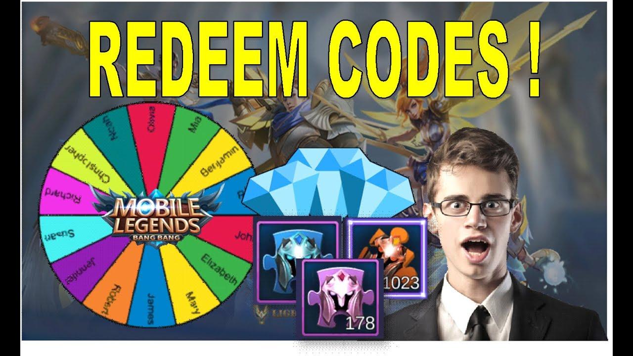 Mobile Legends Redeem Codes - June 25, 2020 - YouTube