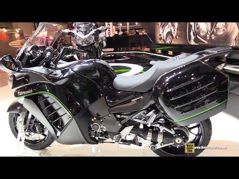 2015 Kawasaki Concours 14 ABS (1400 GTR) - Walkaround - 2014 EICMA Milan Motorcycle Exhibition