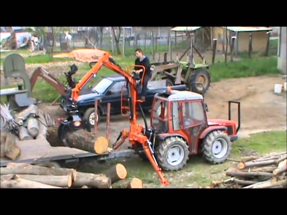 Agri Sav Caricatore Forestale P A S 350 Youtube