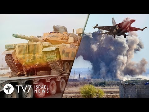 Fierce Turkey-Syria-Russia battles escalate; migrants flood EU border - TV7 Israel News 28.02.20