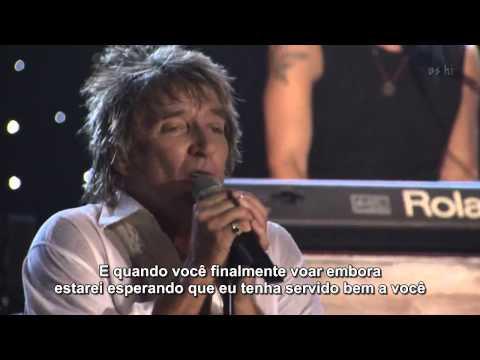Rod Stewart - Forever Young  (Live HD) Legendado em PT- BR