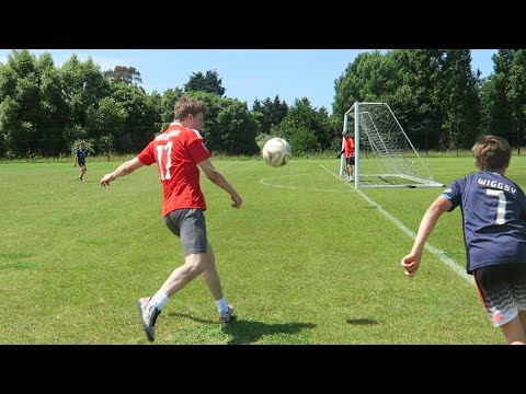 EPIC FOOTBALL CHALLENGES vs MY BRO