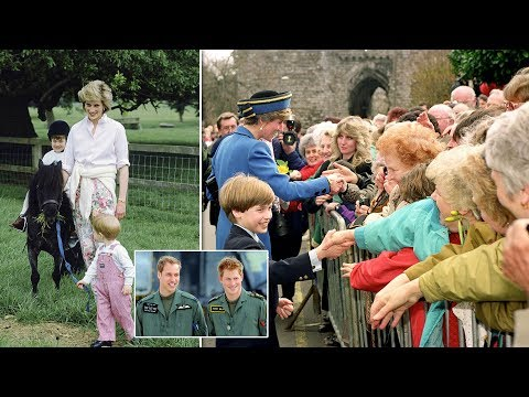 How Diana's down-to-earth parenting turned her sons into the well-rounded princes they are today