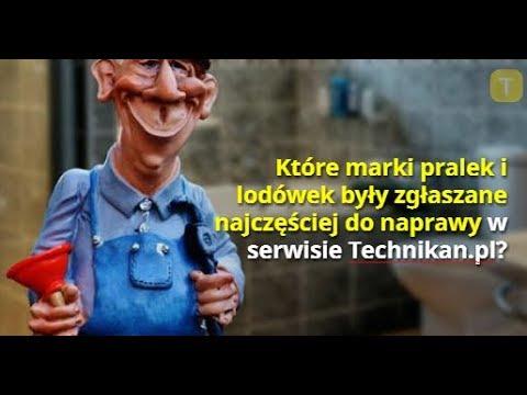 Które marki pralek i lodówek były zgłaszane najczęściej do naprawy w serwisie Technikan pl?