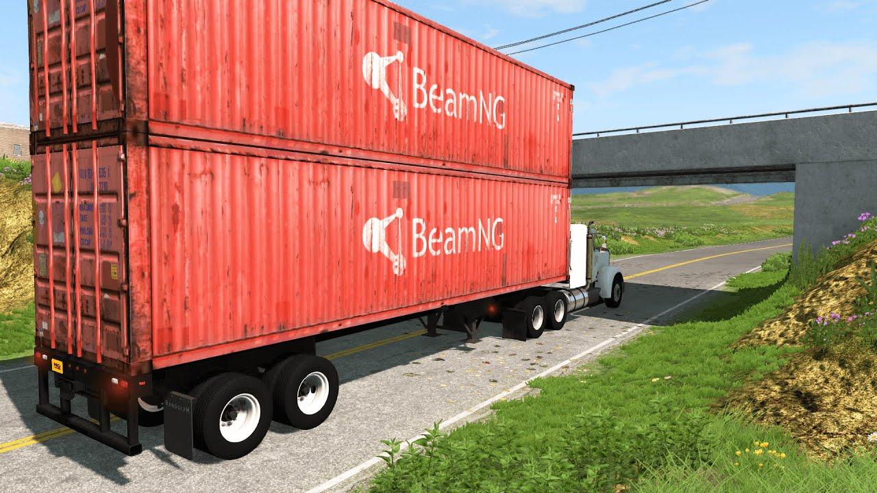 Trucks vs Bridges #1 – BeamNG.Drive