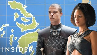 Here's Where Black People On 'Game Of Thrones' Are From