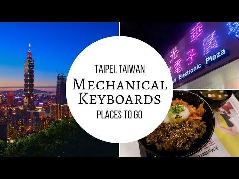 Mechanical Keyboards in Taipei, Taiwan