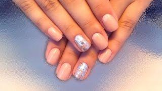 Дизайн ногтей гель-лак shellac - Дизайн фольгой (видео уроки дизайна ногтей)