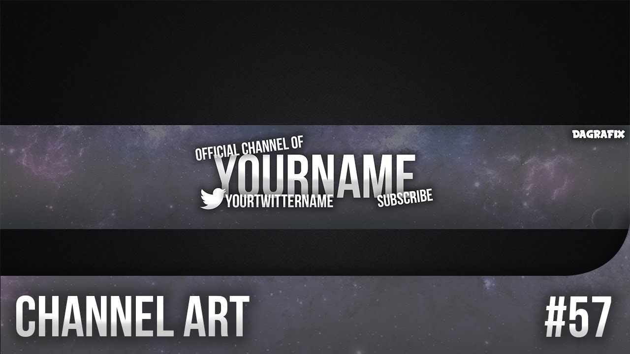 channel art template psd - Dorit.mercatodos.co